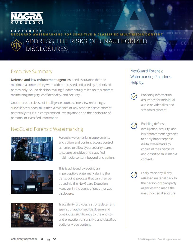 NexGuard for sensitive adn classified multimedia-thumbnail