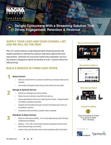 U.S. streaming solution-thumnail